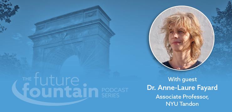 Dr. Anne-Laure Fayard, Associate Professor of Innovation, Design and Organizational Studies at the NYU Tandon School of Engineering