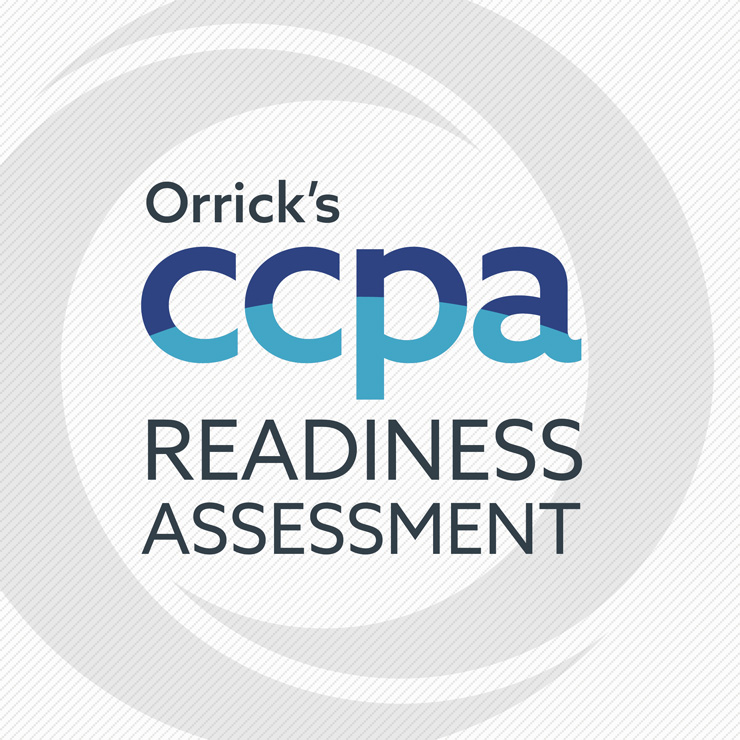 Orrick's CCPA Readiness Assessment