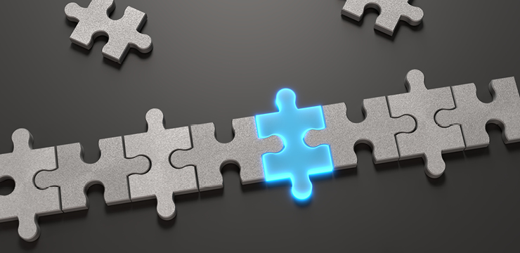highlighted puzzle piece