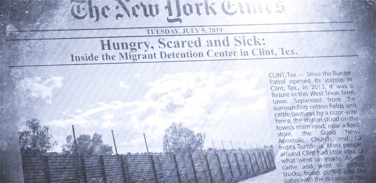 video still of New York Times article