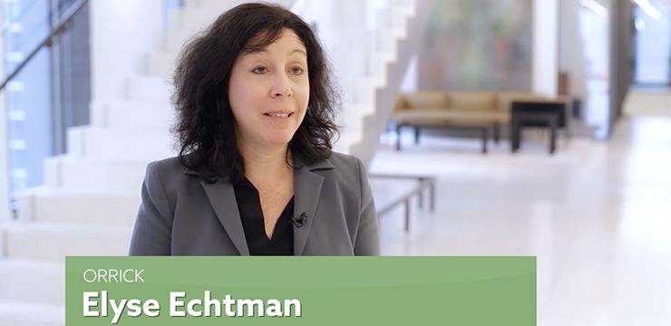 Orrick partner Elyse Echtman