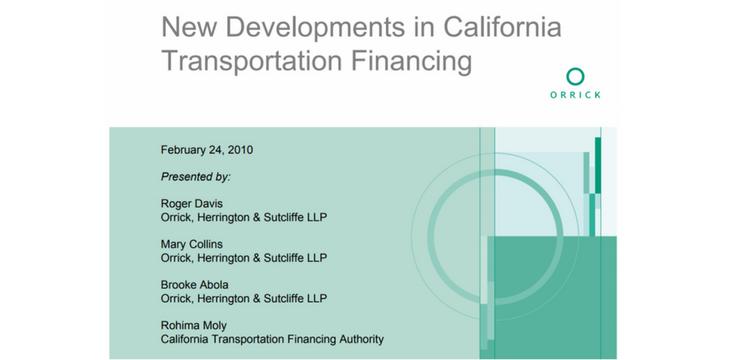 California Transportation