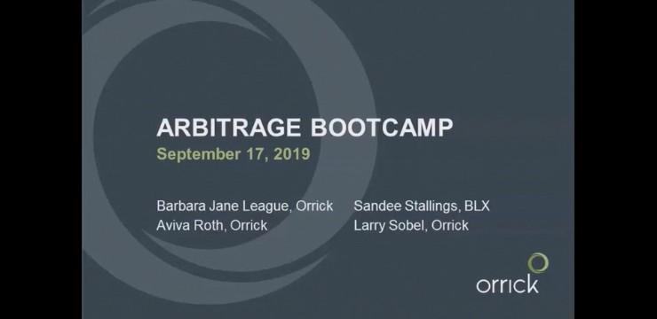 Arbitrage Bootcamp