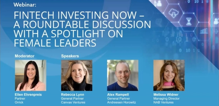 Fintech Investing Now: A Roundtable Discussion with a Spotlight on Female Leaders