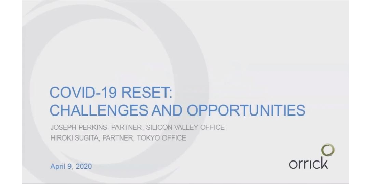 COVID-19 Reset: Challenges and Opportunities