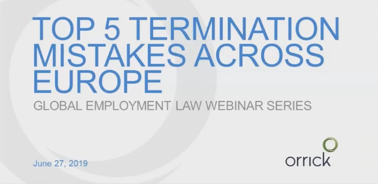 Webinar: Top 5 Termination Mistakes Across Europe